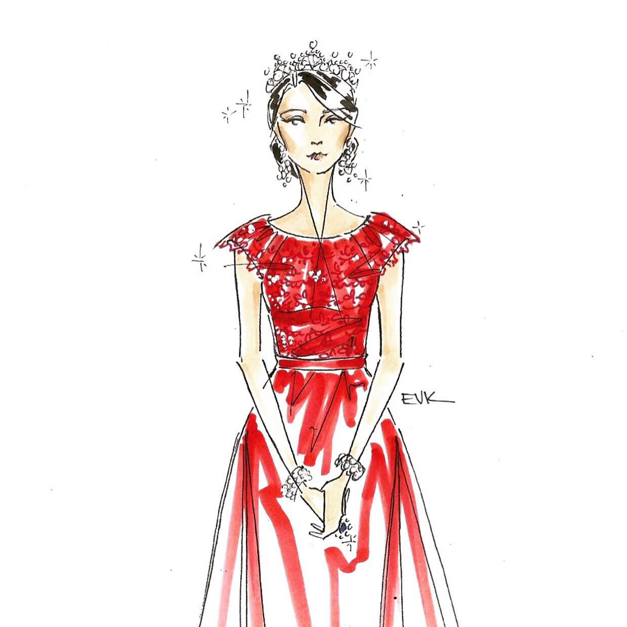 """""""The Duchess of Cambridge + Jenny Packham - China State Visit, 2015"""""""