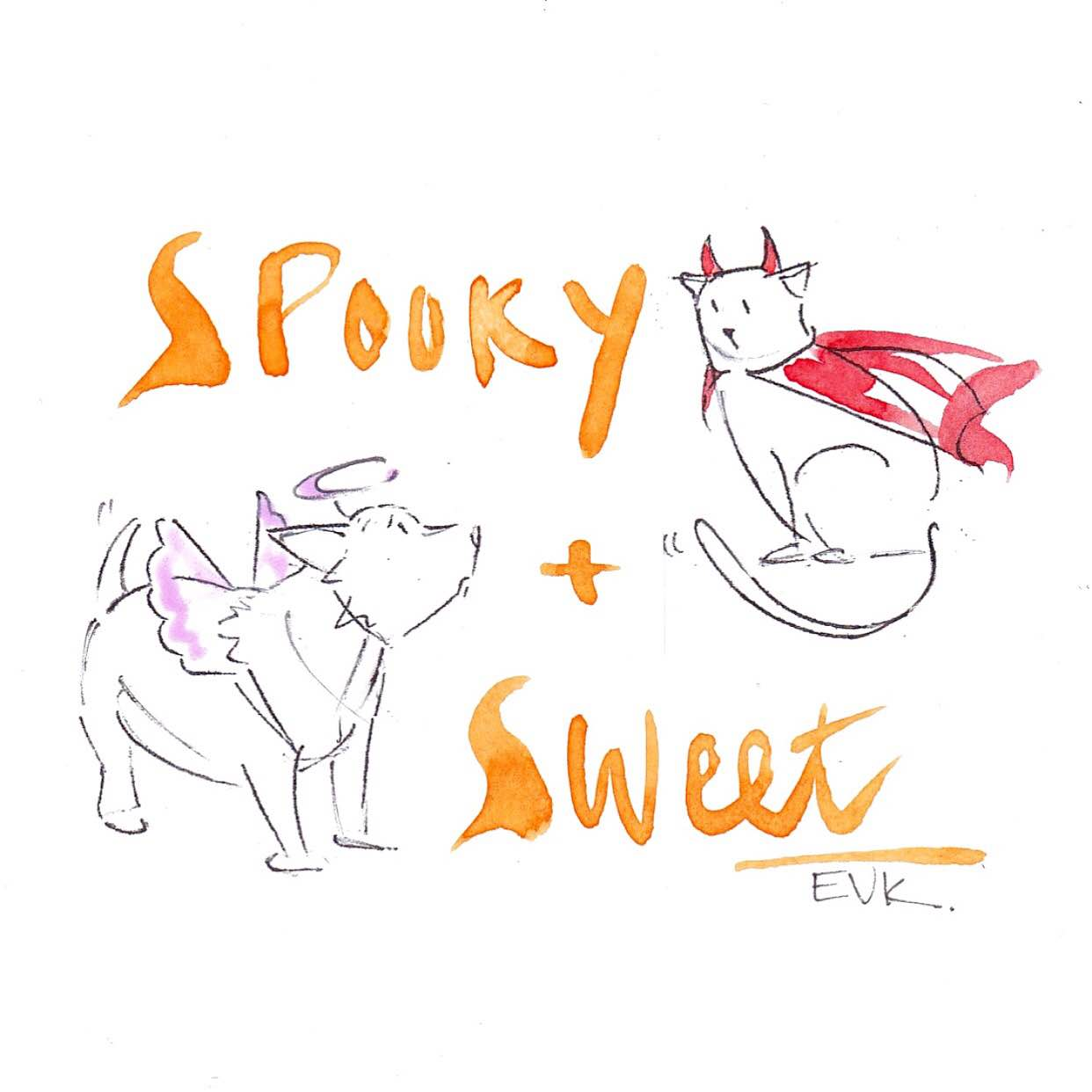 """""""Spooky + Sweet"""""""