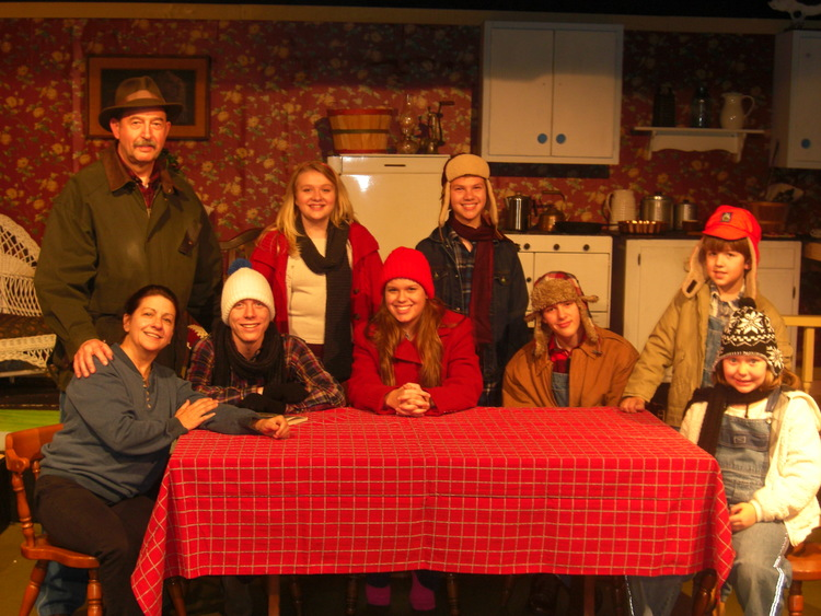 The Homecoming A Christmas Story.Gallery Dalton Little Theatre