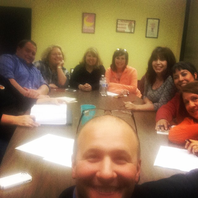 Behind the scenes look at one of the Fall 2014 board meetings at the Dalton Little Theatre. The volunteer board members help make all of the season's productions possible.