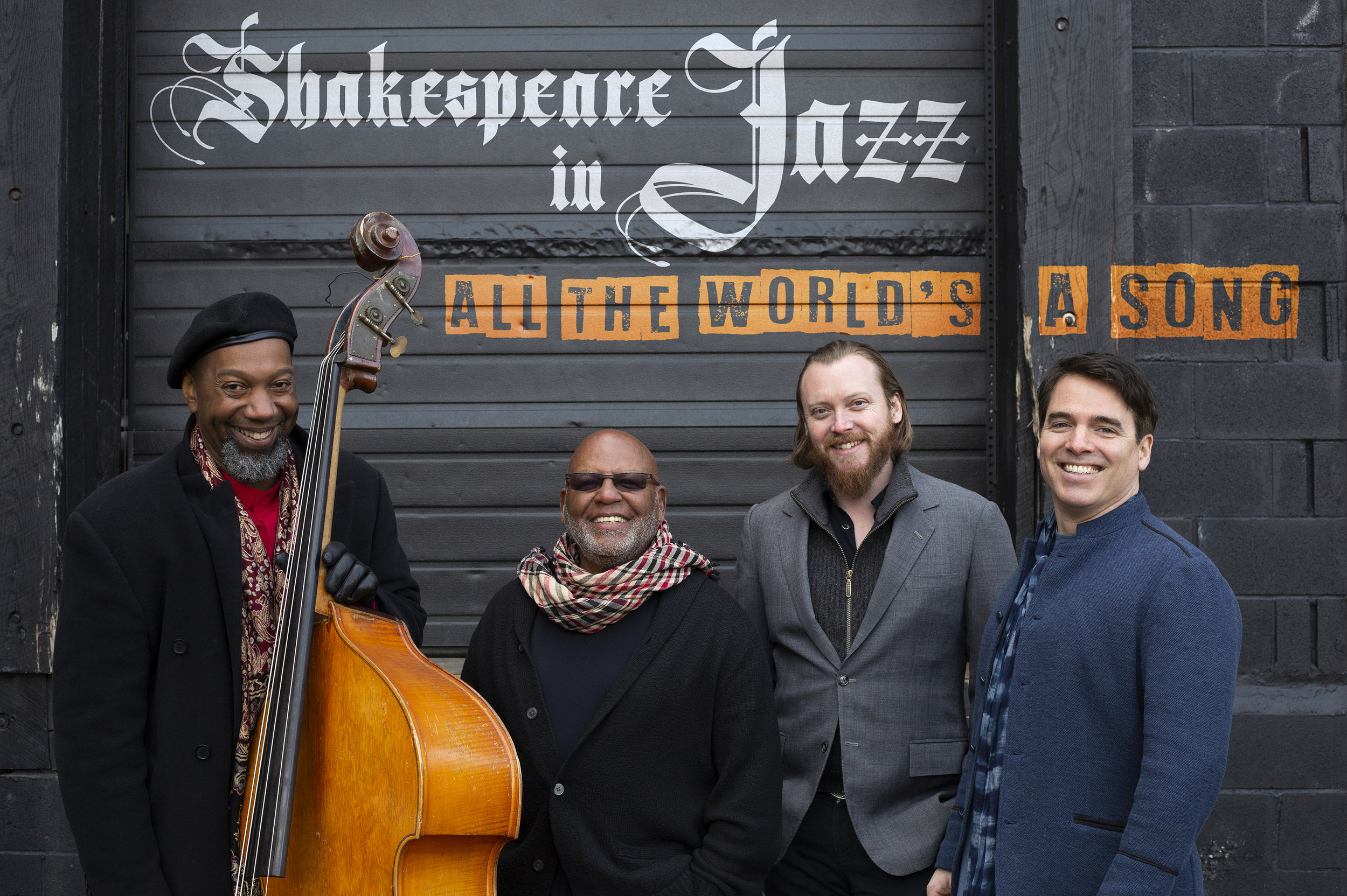 Click to download:  Shakespeare in Jazz (quartet) 01 - high resolution   Shakespeare in Jazz (quartet) 01 - low resolution  Photo credit - Flynn Larsen