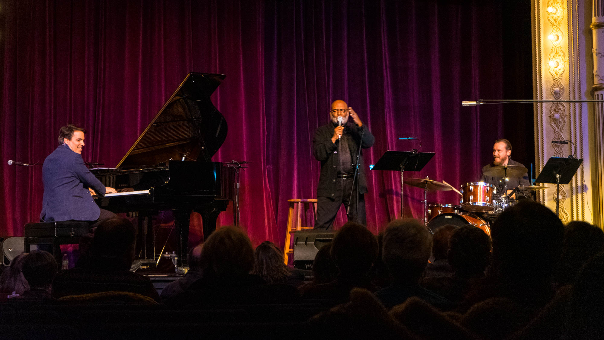 Click to download:  Shakespeare in Jazz Trio - Live 2   Photo credit - Seth Harwood