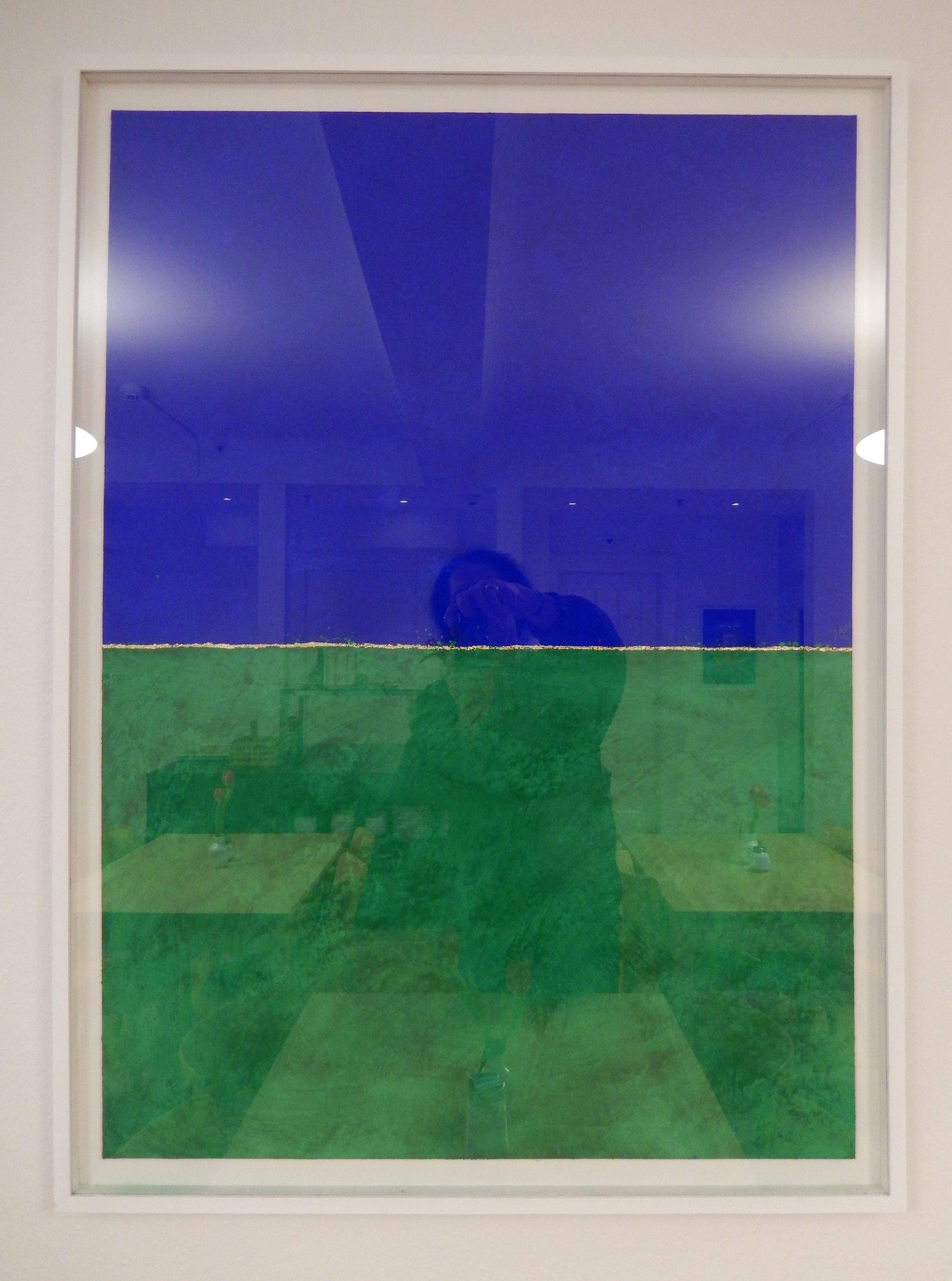 inbetween - green and blue