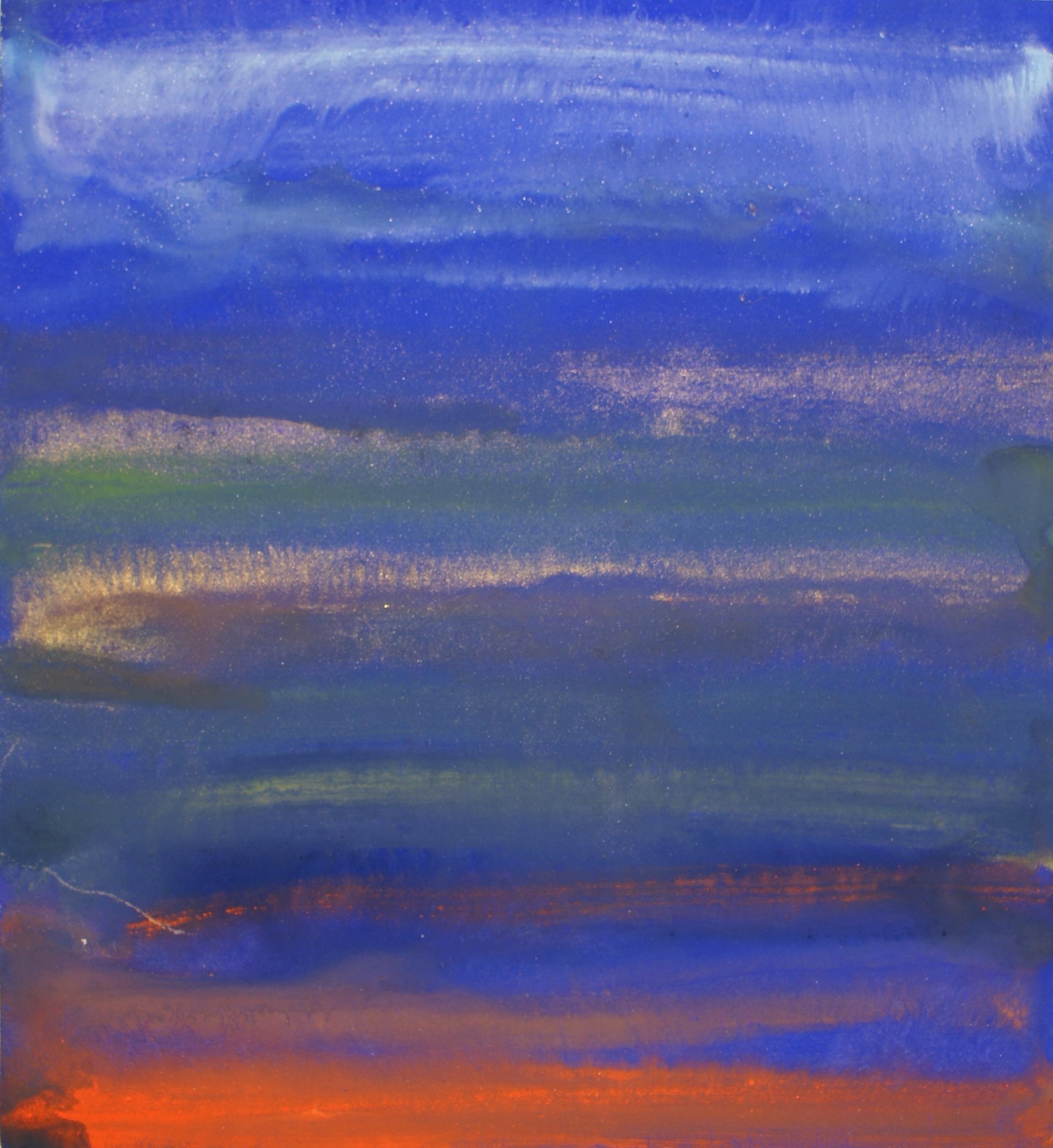 alfred dam serendib taprobhane I pigments egg tempera on paper 39,5 x 36 cm 2009 sri lanka