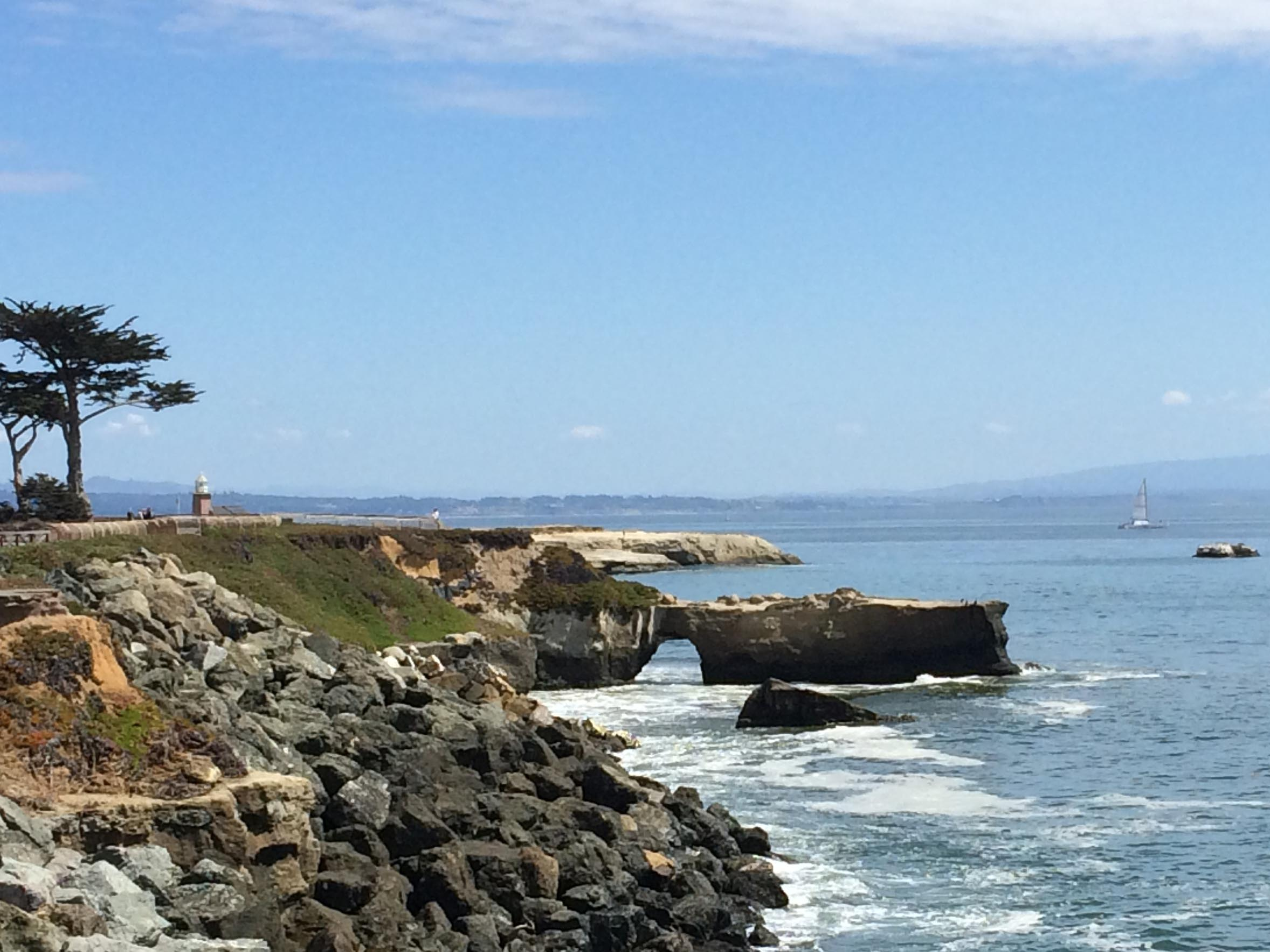 A view of California's central coast.  (Image by Emily Benson)