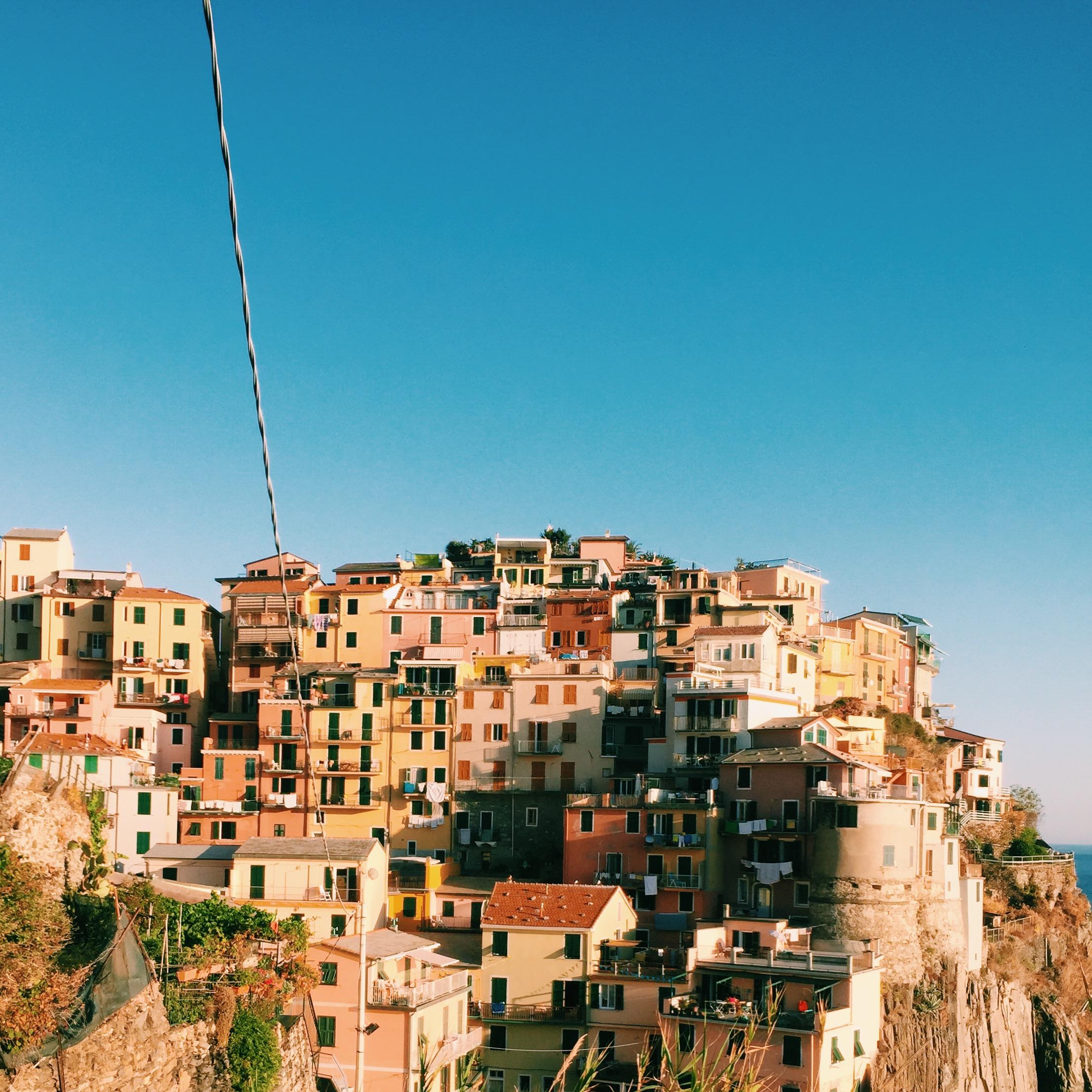TRAVEL: ITALIAN TREASURE - Riomaggiore, Italy August 2017