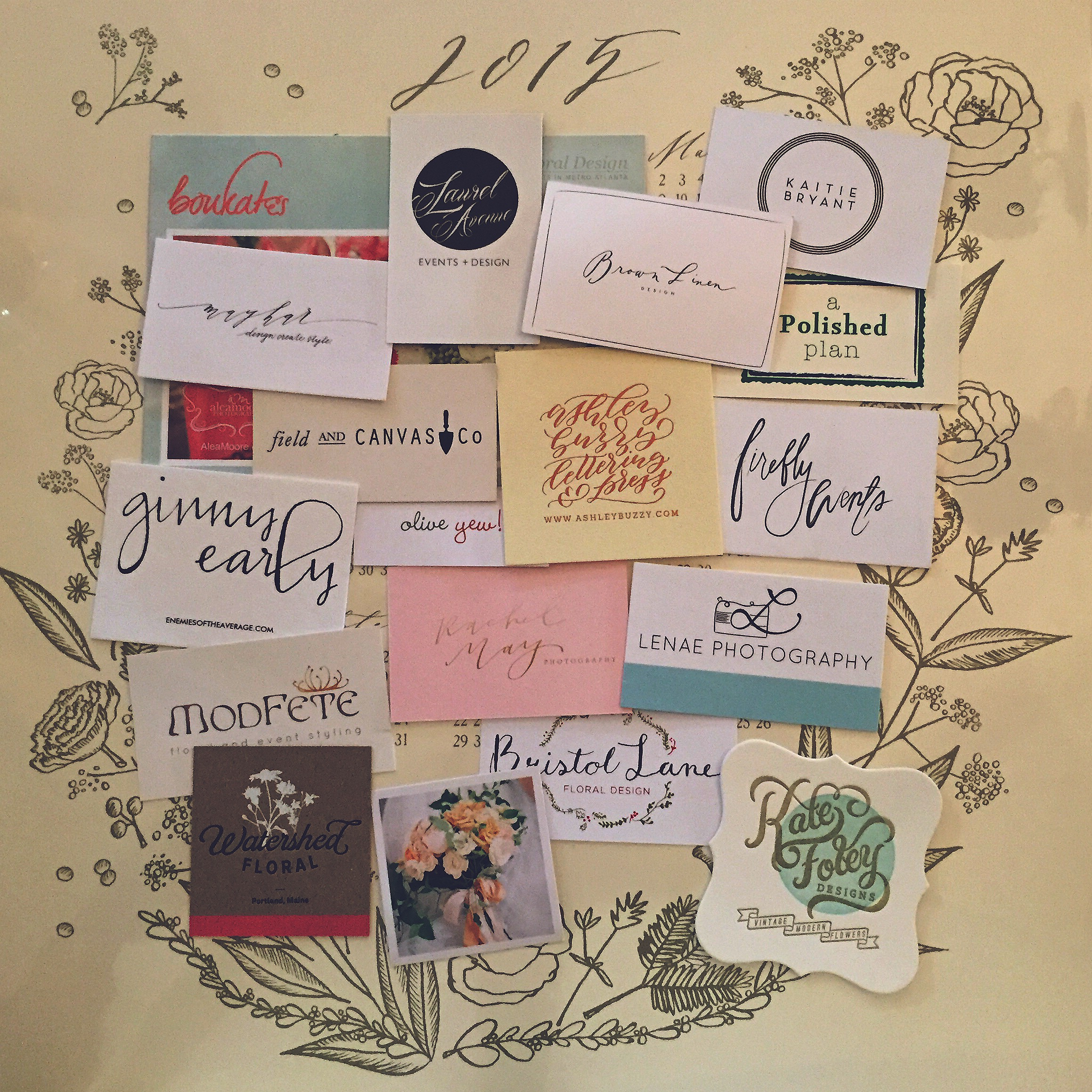 Creatives have the prettiest business cards!