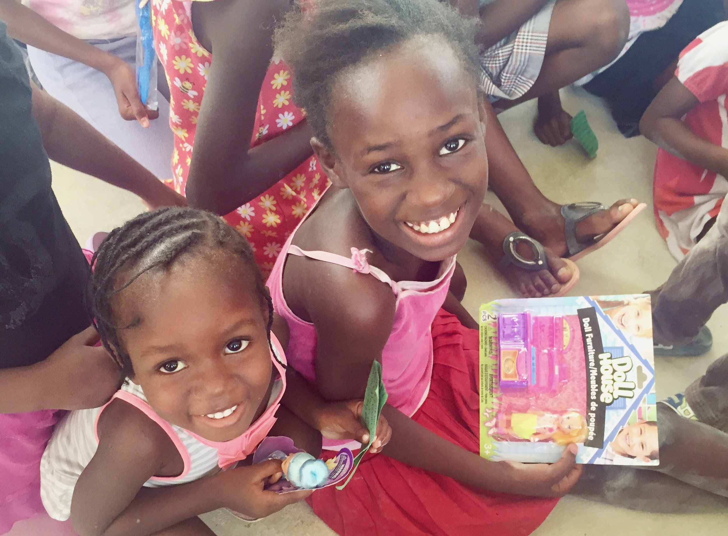 Kids we currently work with in Canaan, Haiti who are not attending school.