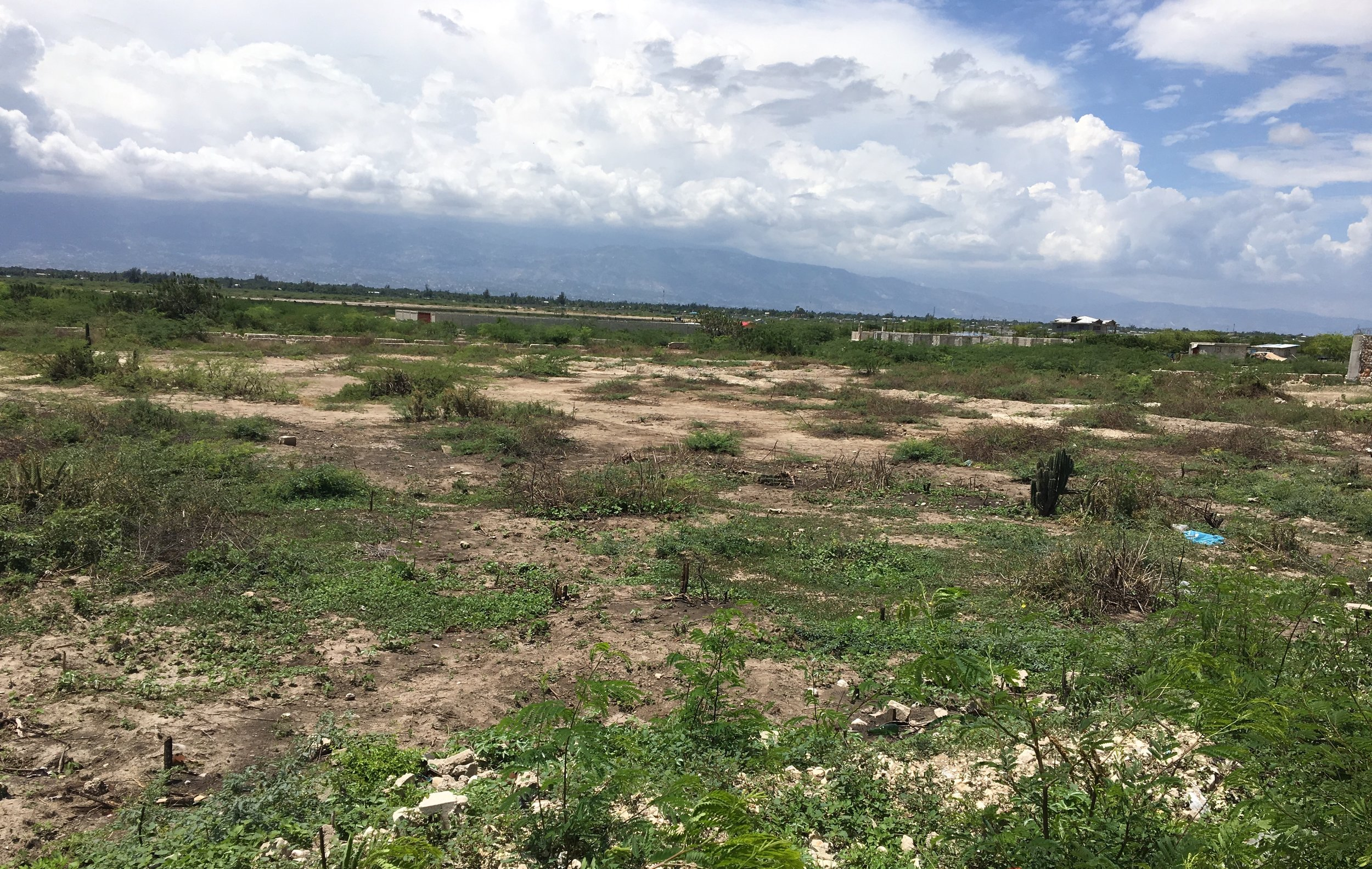 Kingdom Kids Homes property purchased for House of Hope in Cannaan, Haiti. (April 25, 2017)