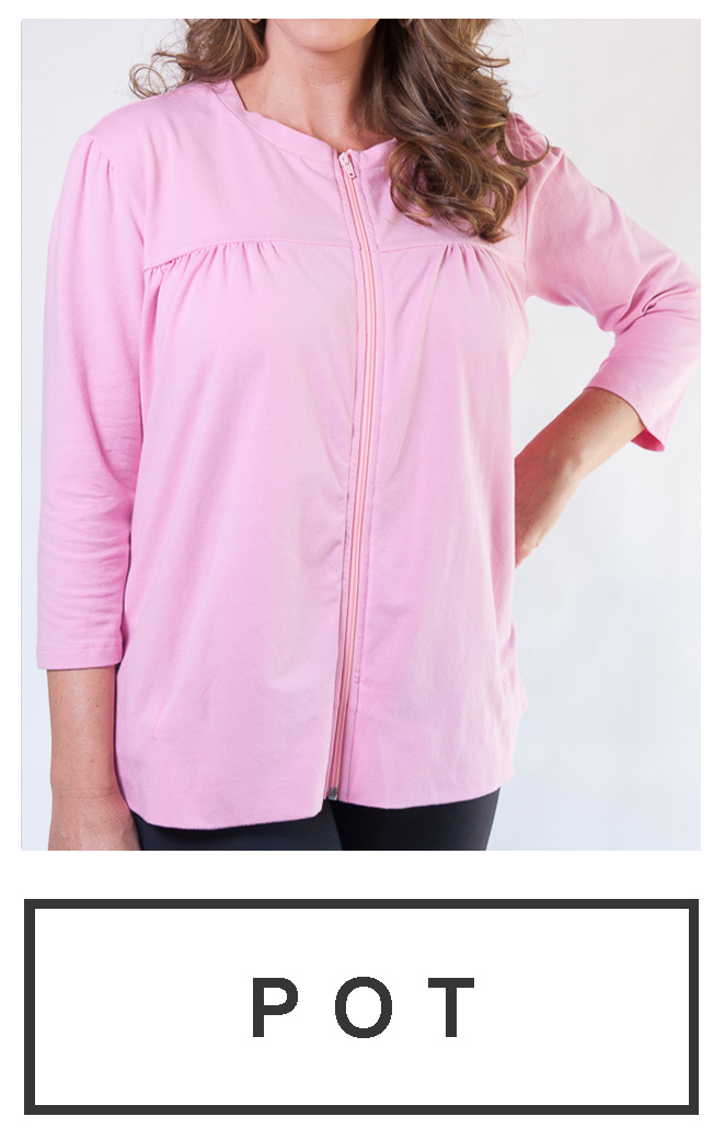 Our latest zip-up, zip-down design $69.95