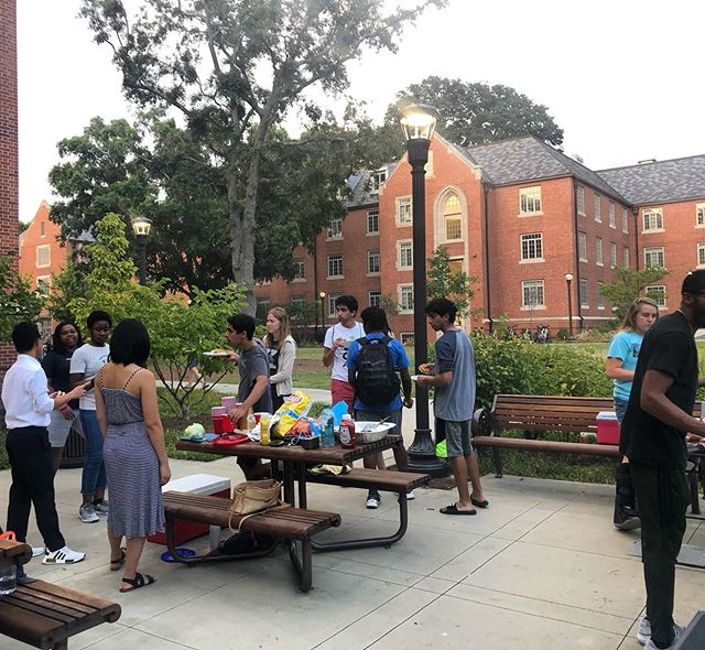 Good times, good food, good people! Thanks for coming out to our Cook Out on Friday! #gt #georgiatech #cookout #friyay