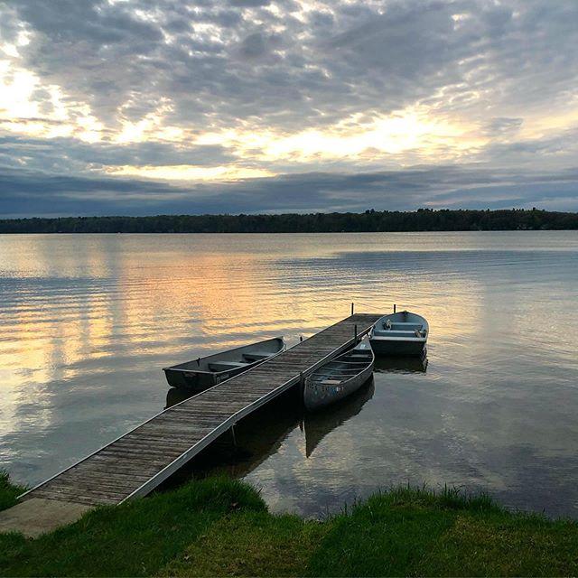 Northern Michigan. #dusk ❤️