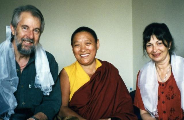 Peter,Suzie & Ani Tenzin 1999