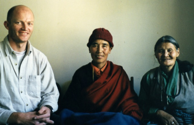 Derek, Ani Pema Lhamo & Lhamo 1999
