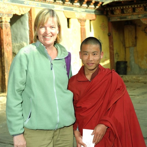 Kristin & Ugyen Tsering 2007 (Bhutan)