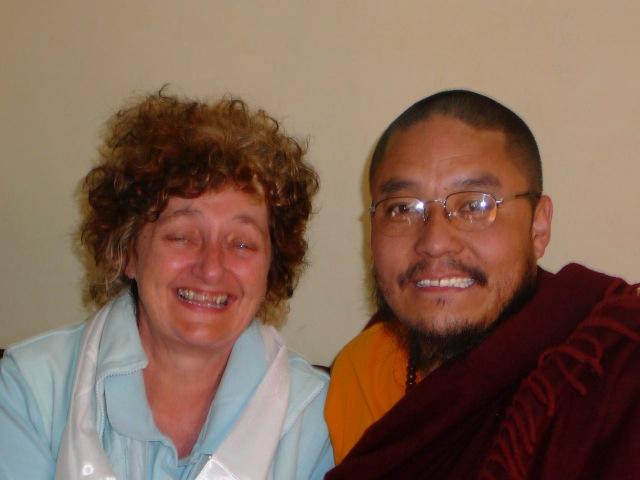 Suzie & Tashi Tobden 2007