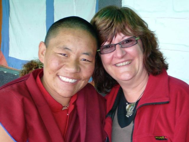 Ani Tsultrim Chotso & Helen 2007