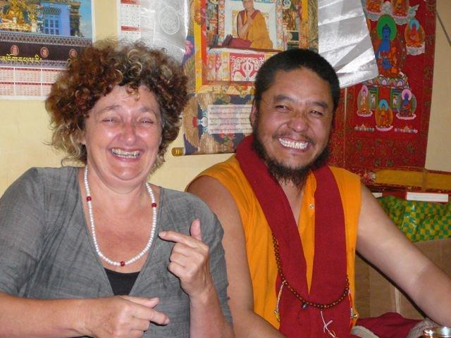 Suzie & Tashi Topden May 2008