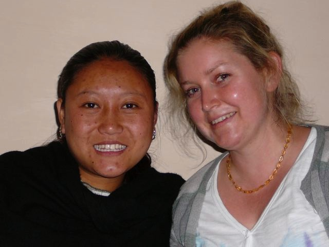 Karma Lhamo & Sophie 2008