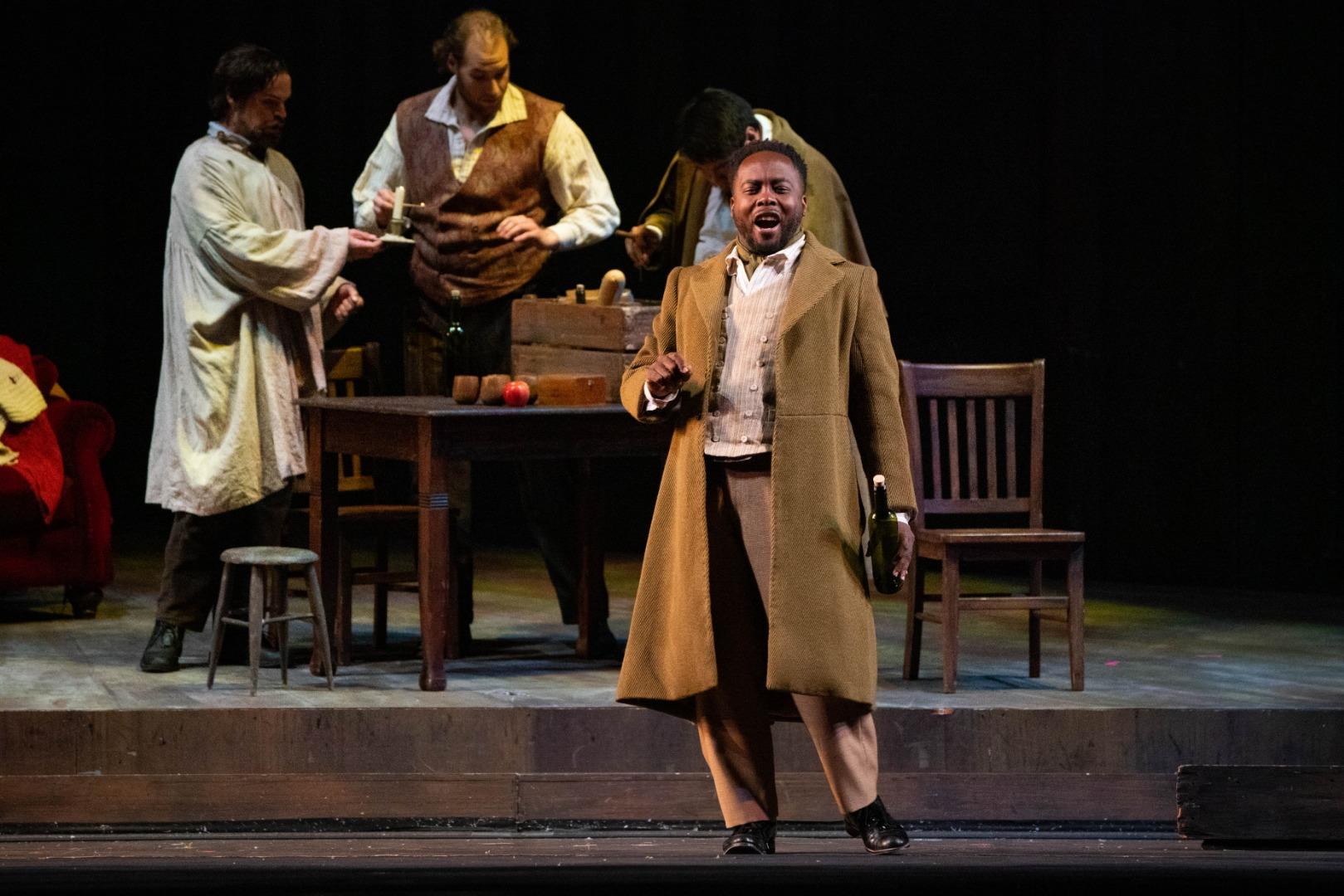 La Bohème at Opera Philadelphia (Steven Pisano)