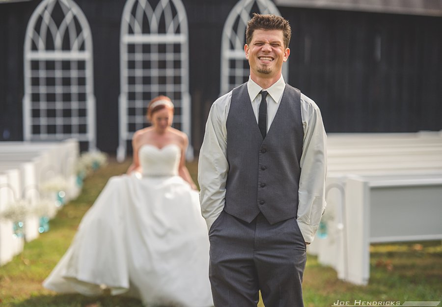 first look - seifert wedding