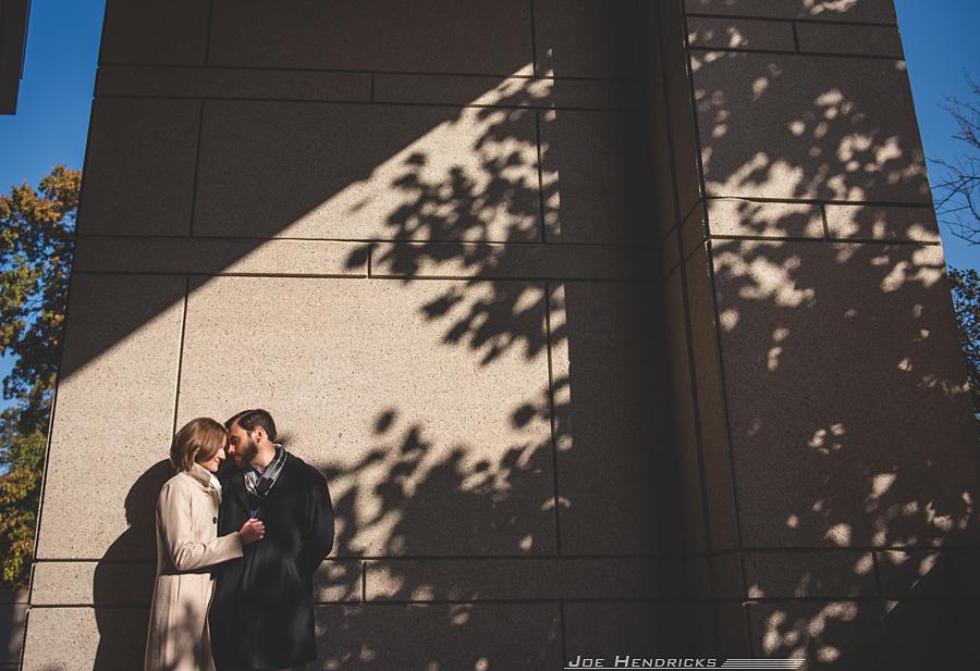 in direct sunlight