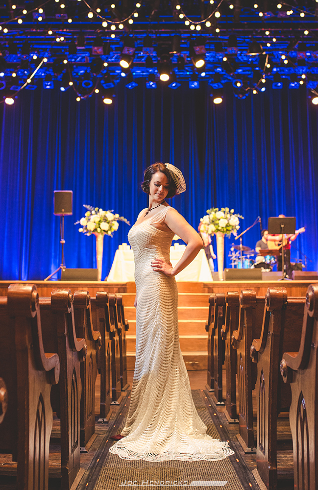 bride at the ryman
