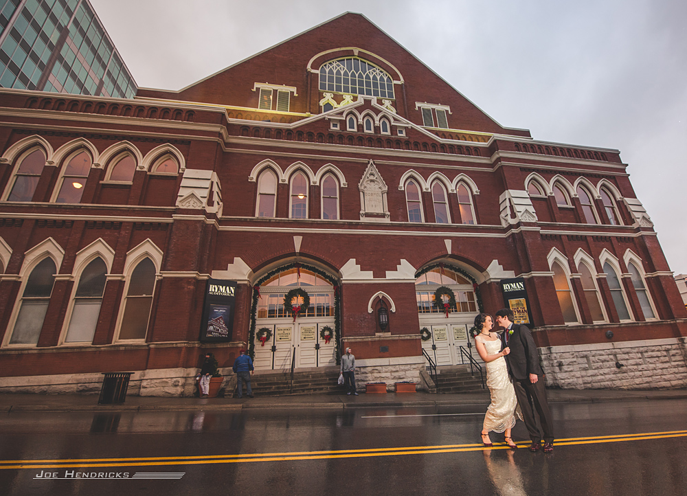 Ryman wedding with bride and groom in the rain