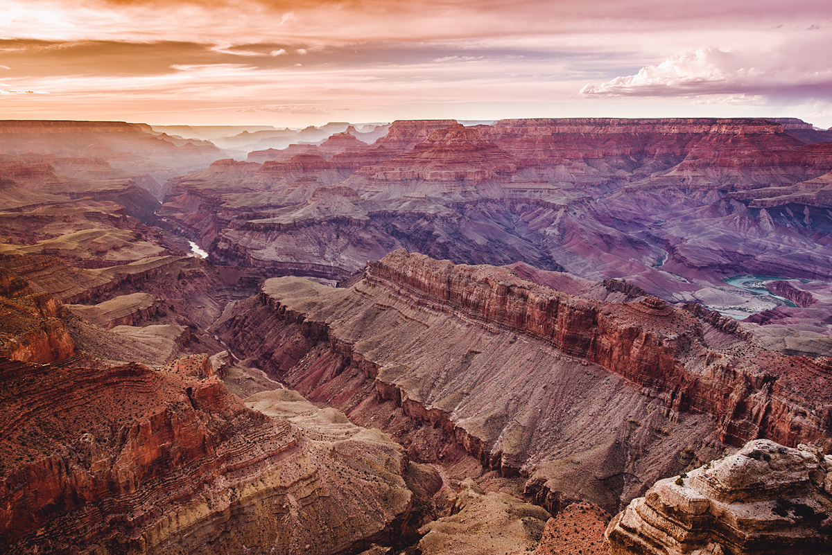 The Grand Canyon was a place I always wanted to see.