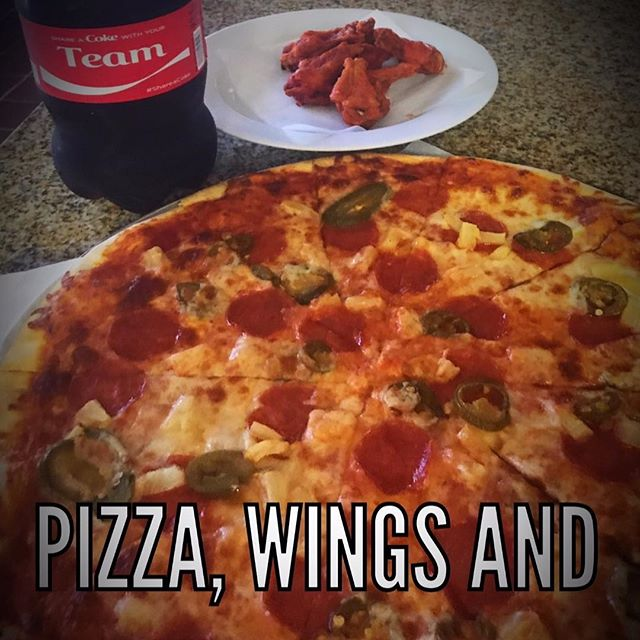Enjoy Pizza and wings this weekend-🍕 Call in or order online. 805.568.0222 SalsSBpizza.com