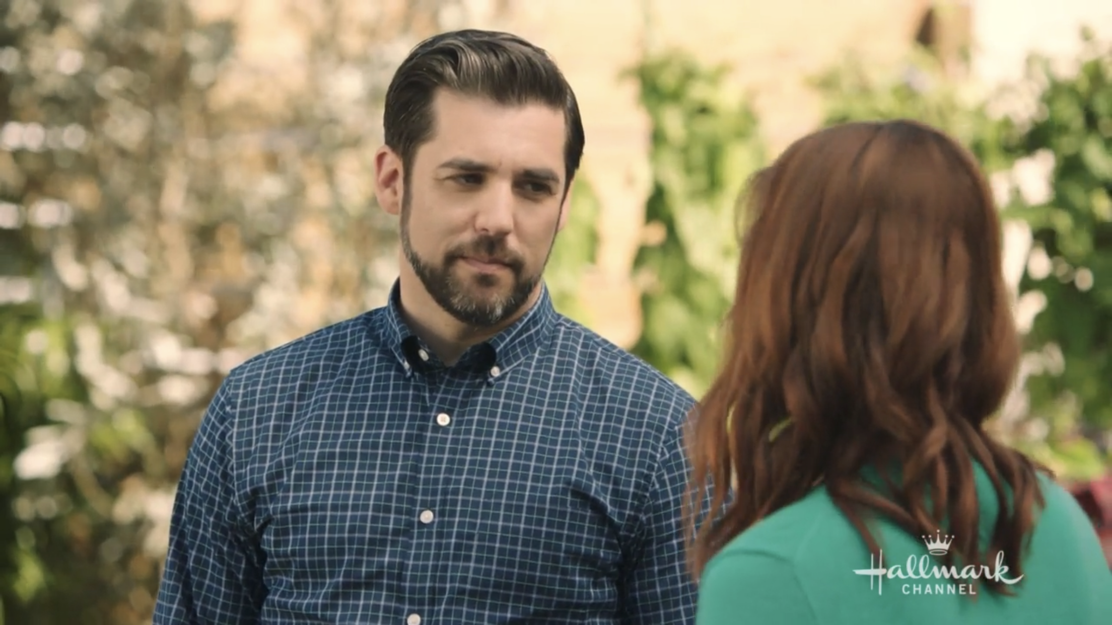 This grey stripe in Jordan Bridges' hair is everything I didn't know I needed.