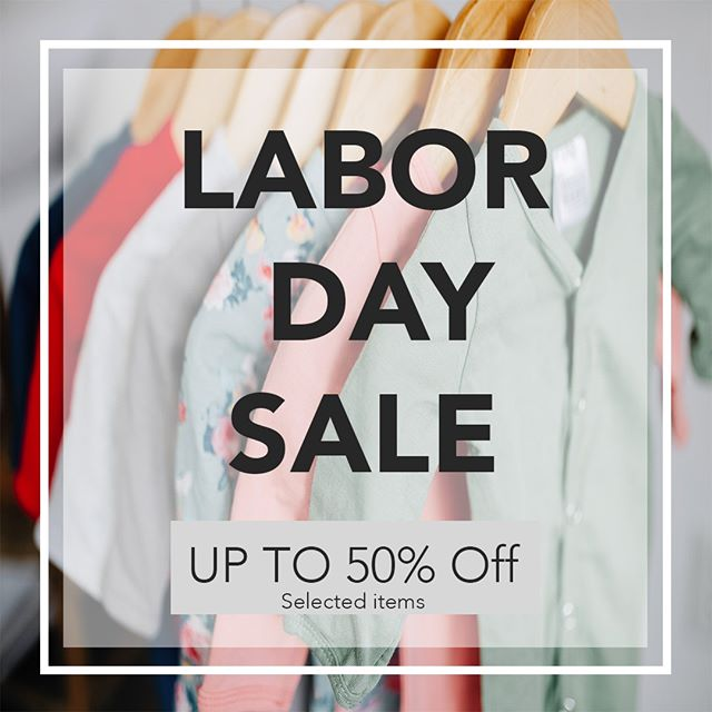 It's ALMOST here!  Our Labor Day sale starts Saturday!  Selected items up to 50% off. ⠀⠀⠀⠀⠀⠀⠀⠀⠀ Shop: dulcebabyco.com⠀⠀⠀⠀⠀⠀⠀⠀⠀ ⠀⠀⠀⠀⠀⠀⠀⠀⠀ Sale Ends Monday!⠀⠀⠀⠀⠀⠀⠀⠀⠀ ⠀⠀⠀⠀⠀⠀⠀⠀⠀ Shop:  dulcebabyco.com⠀⠀⠀⠀⠀⠀⠀⠀⠀ ⠀⠀⠀⠀⠀⠀⠀⠀⠀ babygift #babygirl #babyboy #babyshower #knottedsleeper #babygown #newborn #babybling