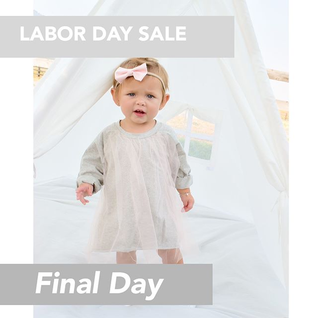 LAST CHANCE!⠀⠀⠀⠀⠀⠀⠀⠀⠀ Our Labor Day Sale Ends TONIGHT!⠀⠀⠀⠀⠀⠀⠀⠀⠀ Shop: dulcebabyco.com⠀⠀⠀⠀⠀⠀⠀⠀⠀ ⠀⠀⠀⠀⠀⠀⠀⠀⠀ #babyshower #babygift #babyboy #babyromper #newborn #linen #linenbaby #newbornphotography  #todderclothes #nylonbows #babybows #babybling #babyheadband #knottedsleeper