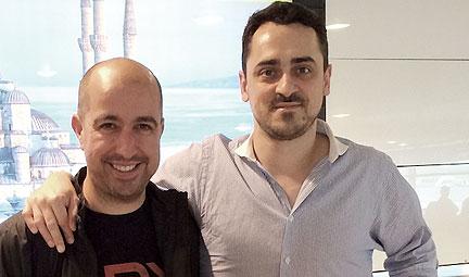 Marco Vega y Gustavo Lauría