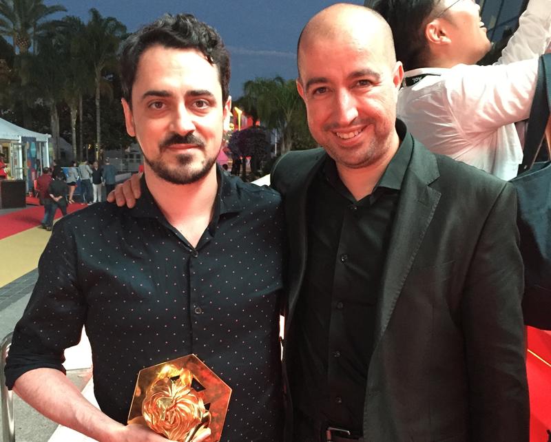 Gustavo Lauría y Marco Vega