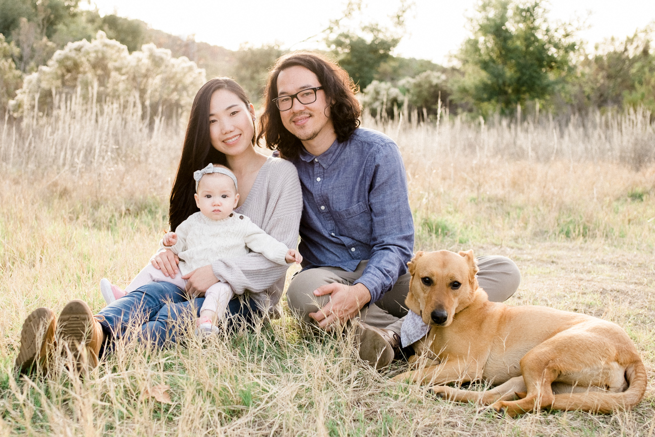 family photography los penasquitos canyon preserve