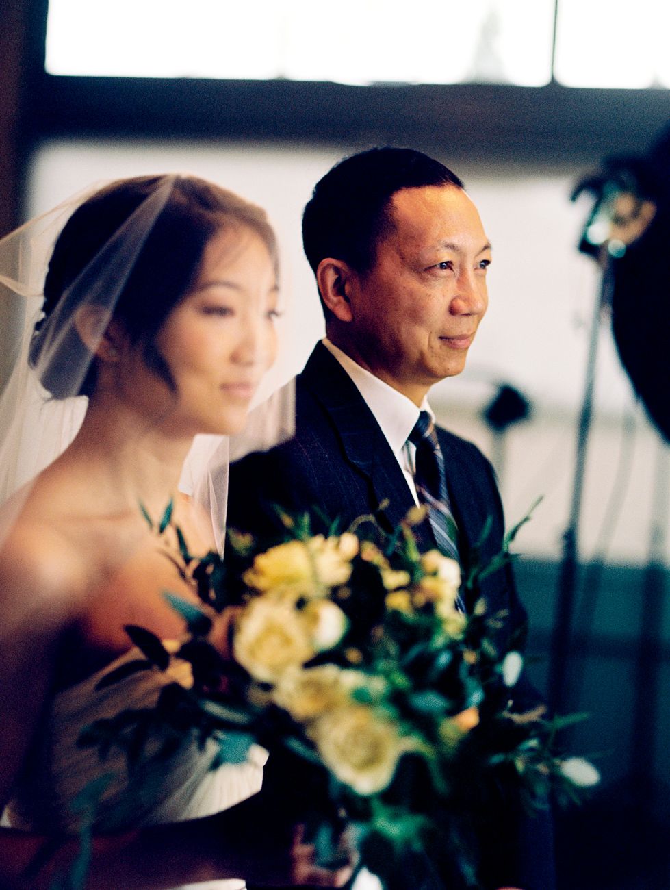 bride and father at california wedding photography
