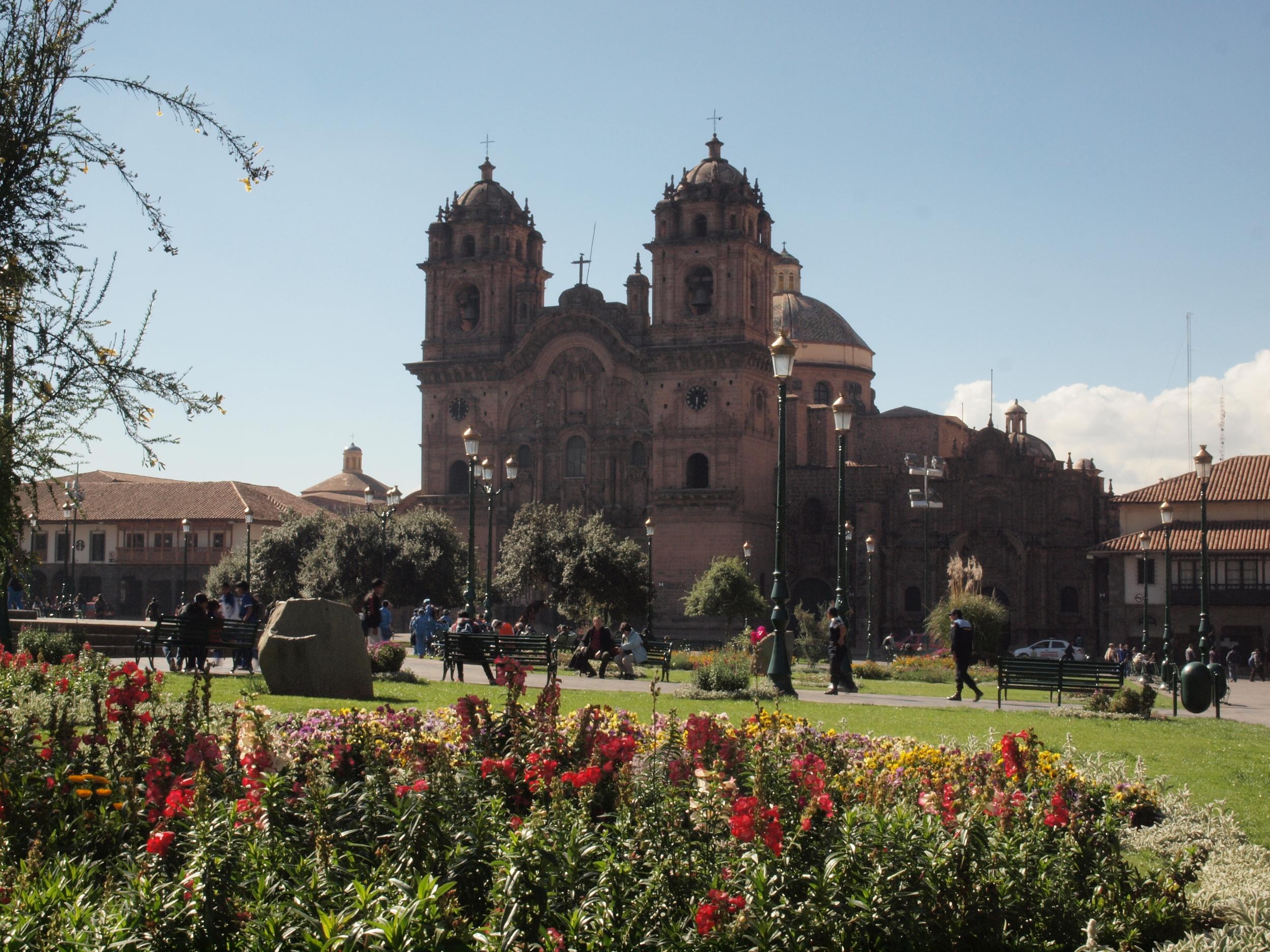 The Plaza D'Armes