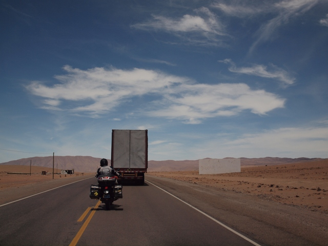 The road to Chile