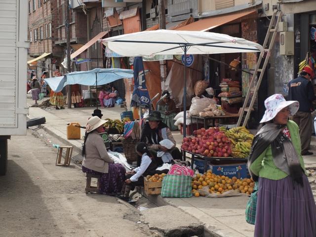 Street scene from La Paz