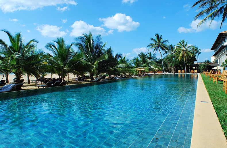 The Pool at the Jetwing Beach