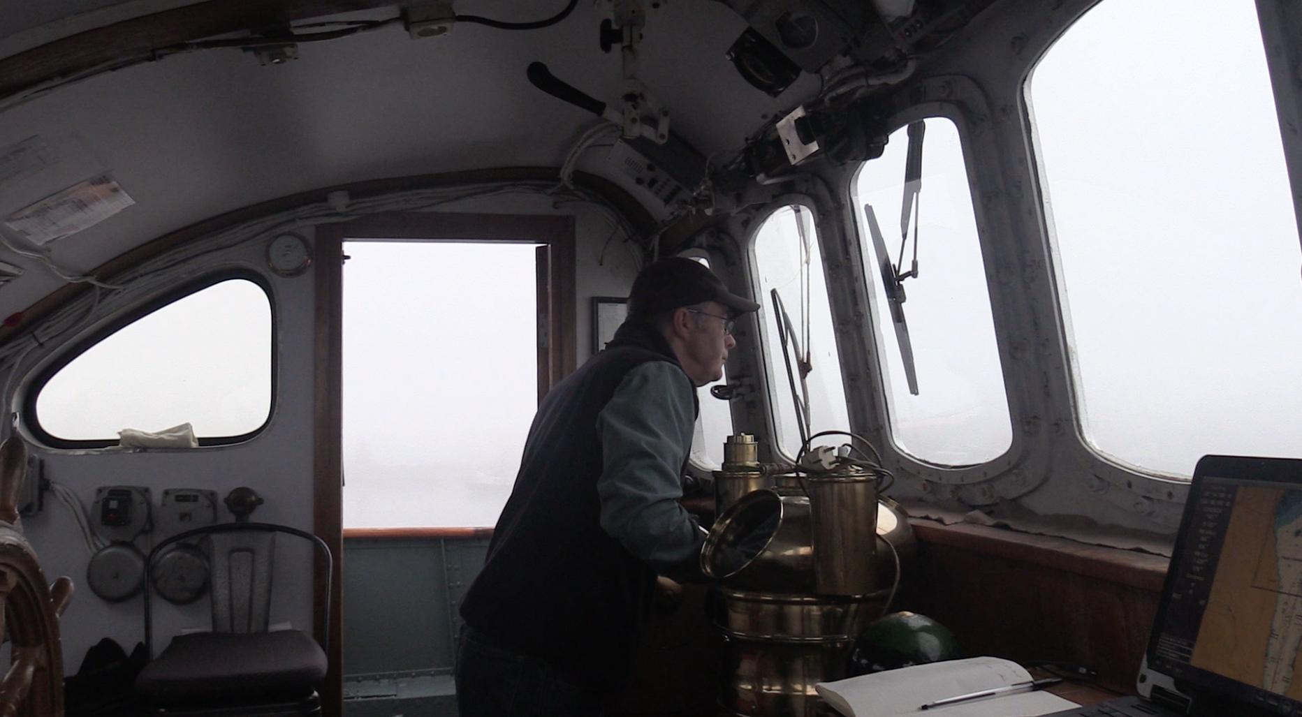 Captain John in the mist