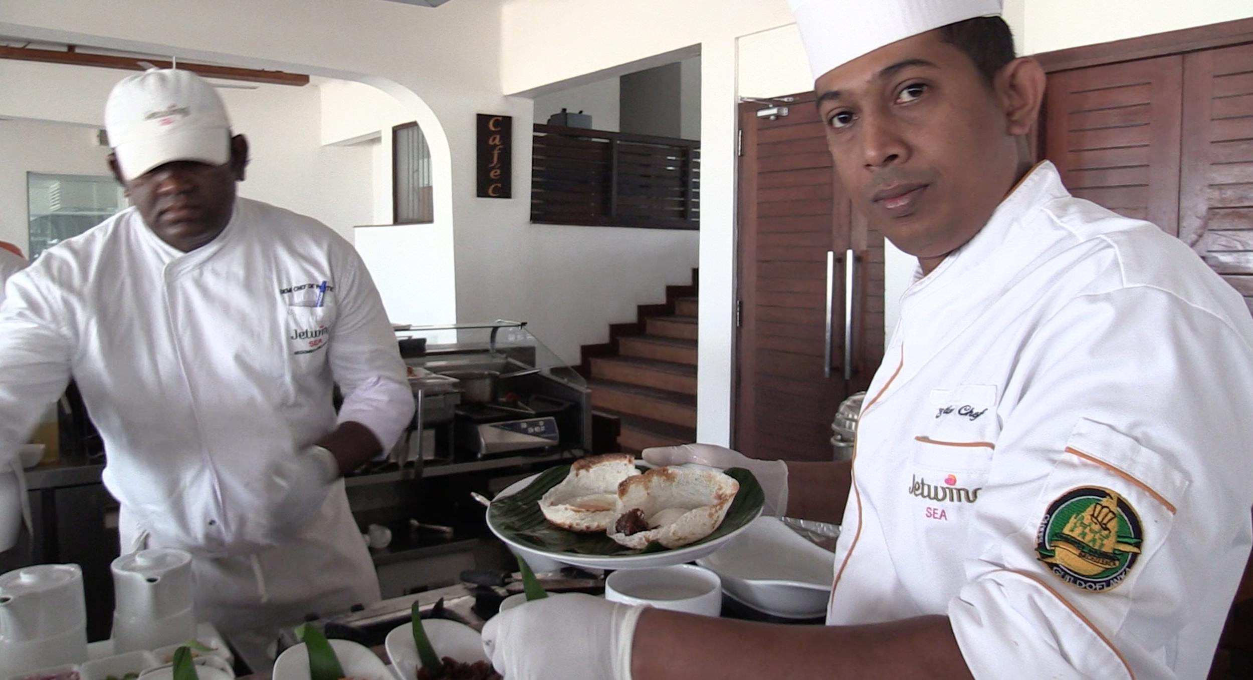 Sri Lankan 'Hoppers!'
