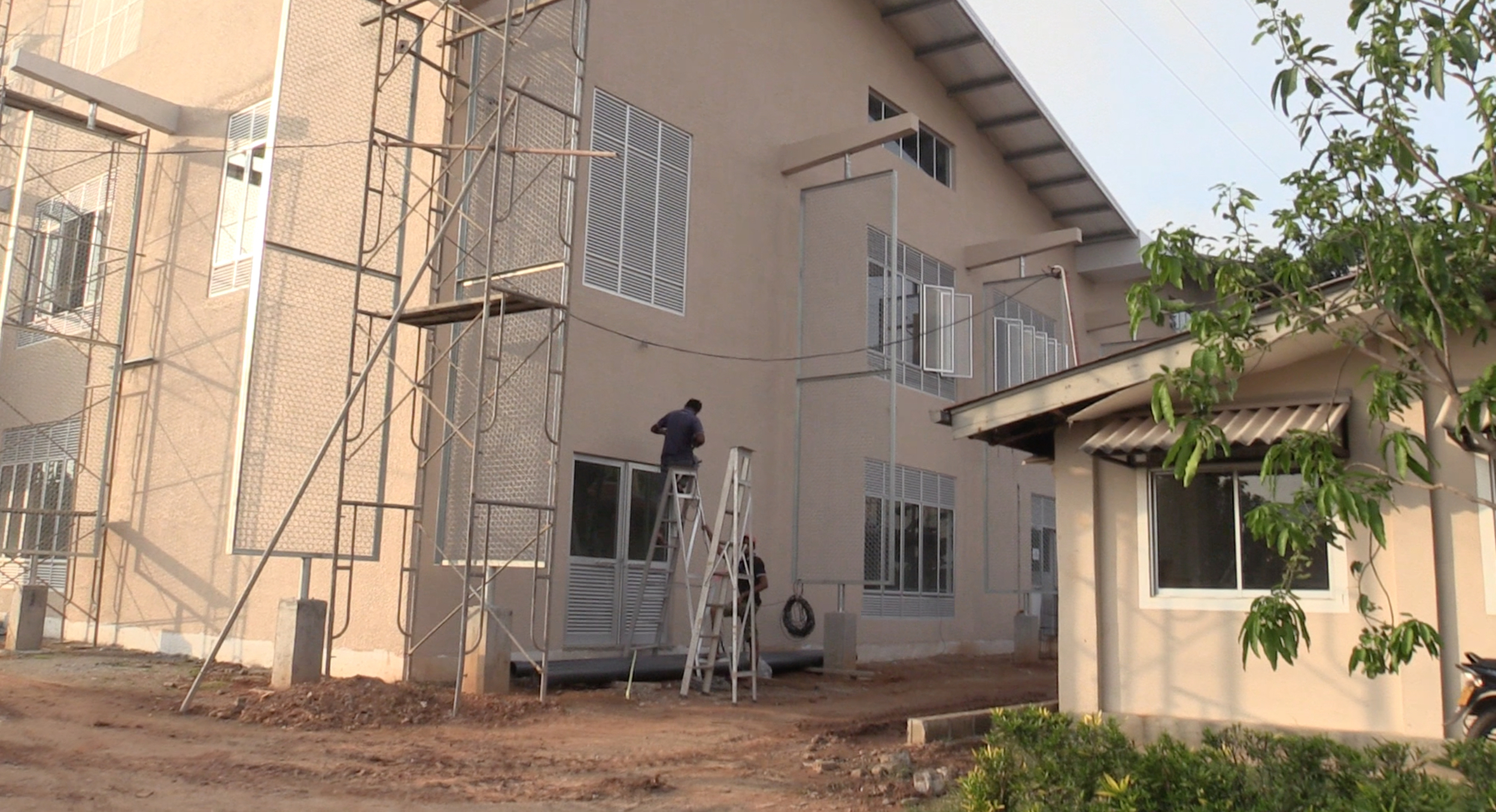 New classrooms nearing completion