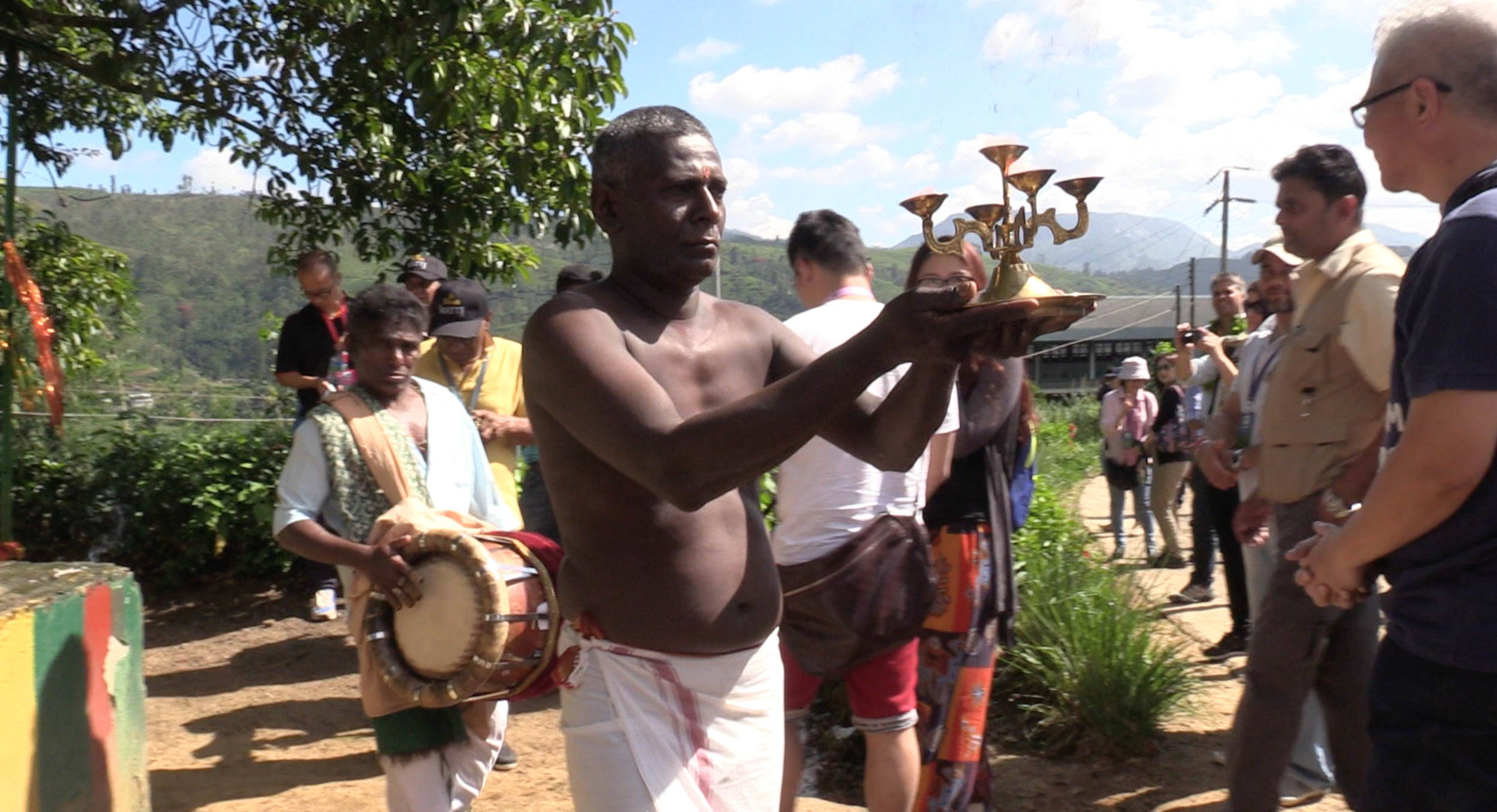 Traditions are strong in Sri Lanka