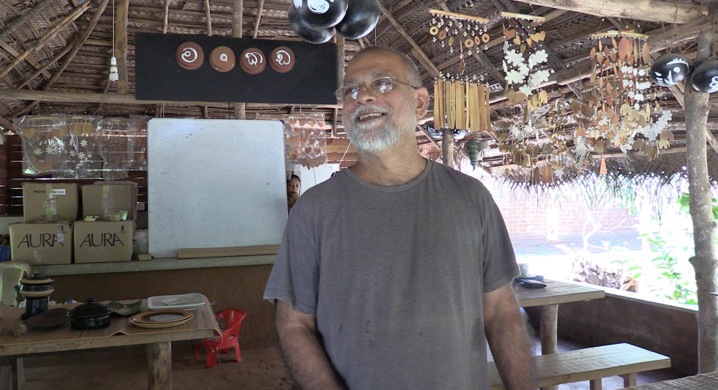 Ajith Mohan Perera, a very personable guy