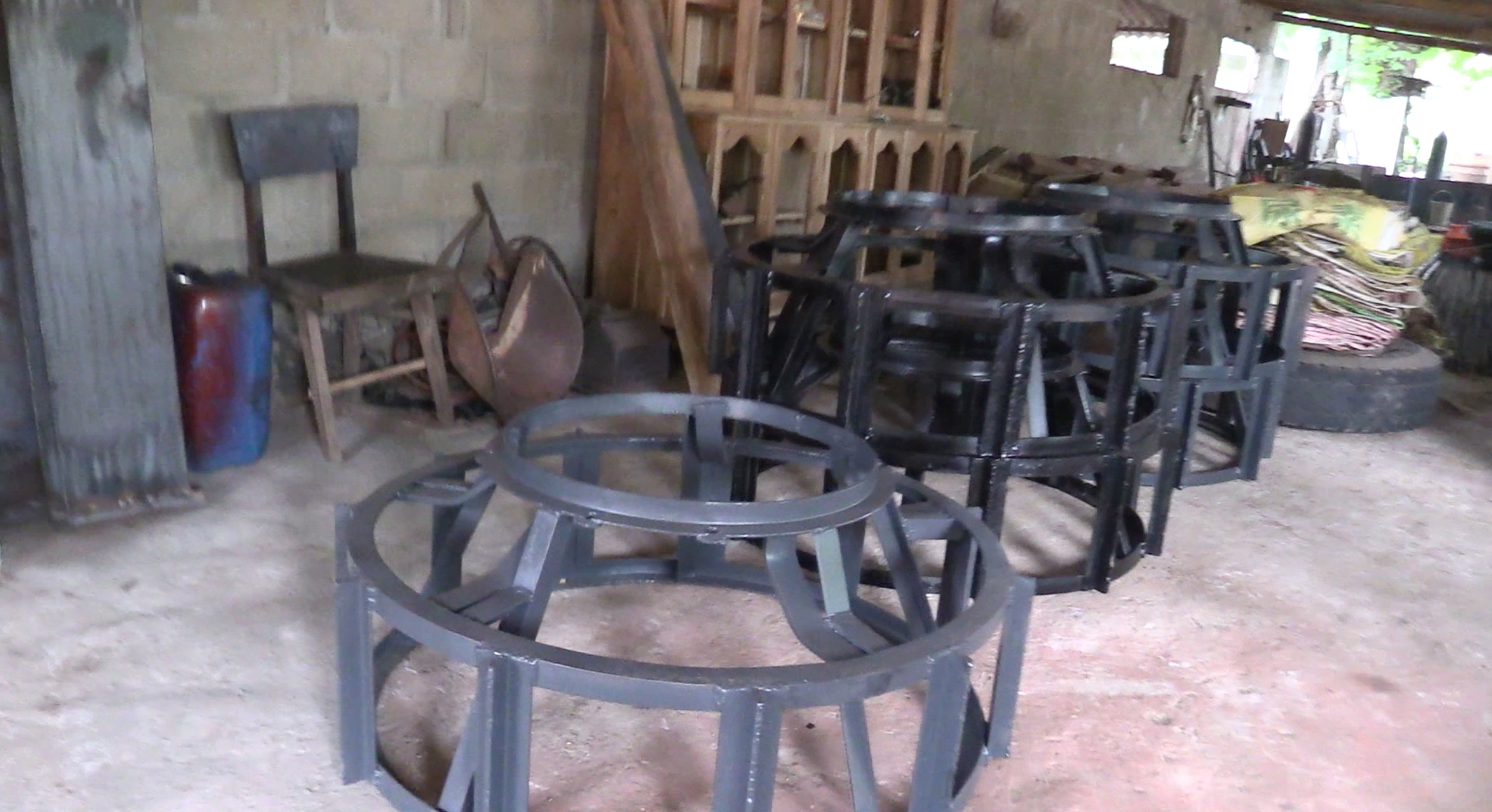 Tractor wheels for the rice paddies
