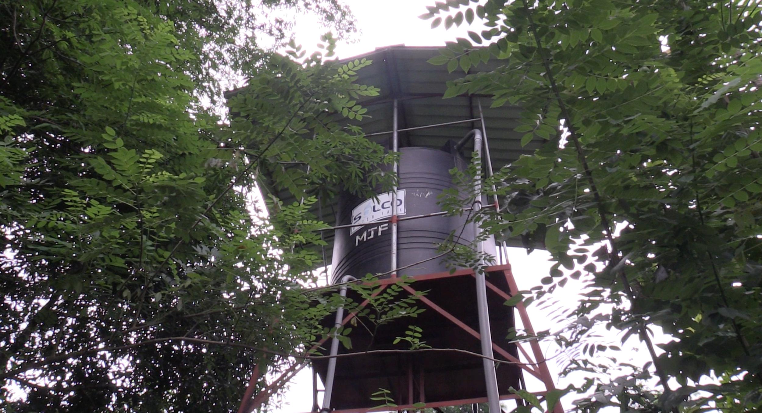 An MJF water tower
