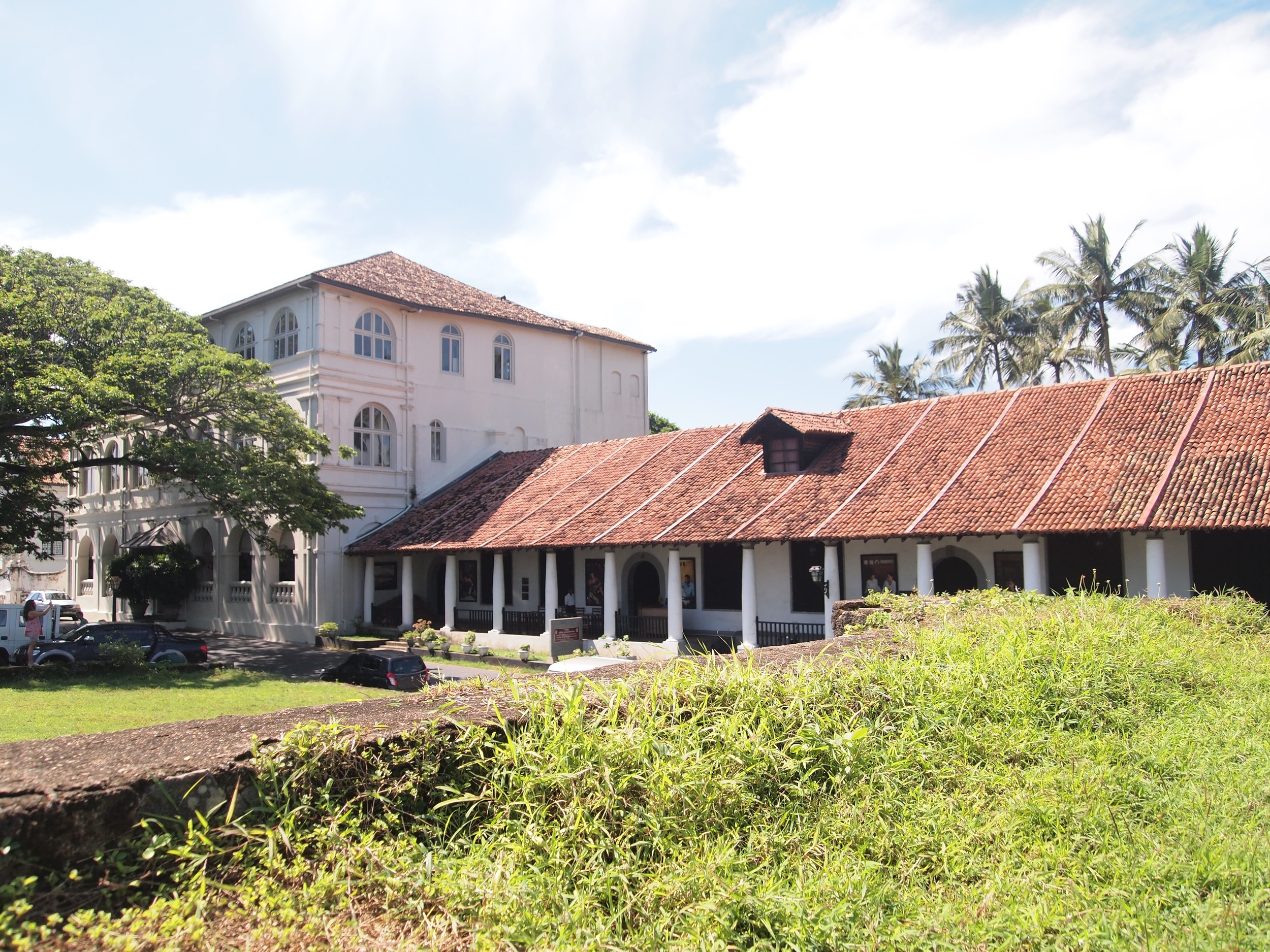 One of Galle's museums