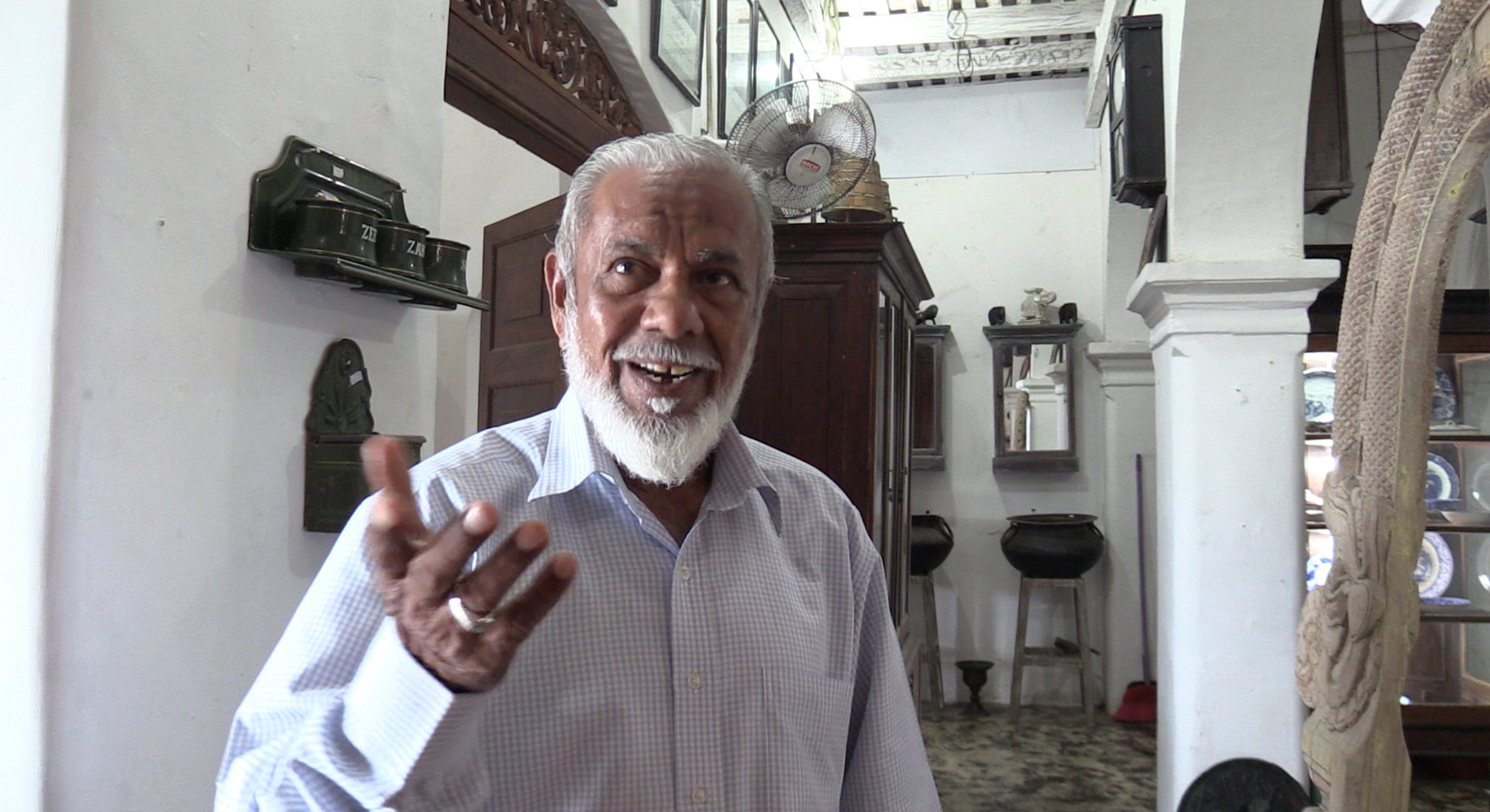 Shopkeeper and historian, Galle has an interesting past